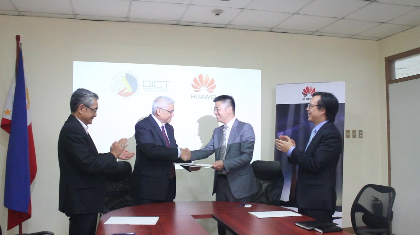 DICT partners up with Huawei Philippines to empower young
