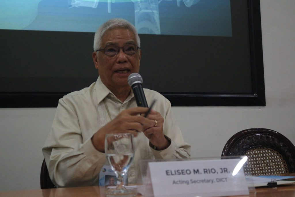 Sec. Rio during the Information Campaign of the Selection of the NMP