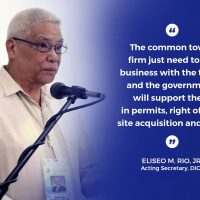 DICT to lead easing of common tower permits