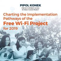 DICT to implement better approach to Pipol Konek – Free Wi-Fi Internet Access in Public Places Project