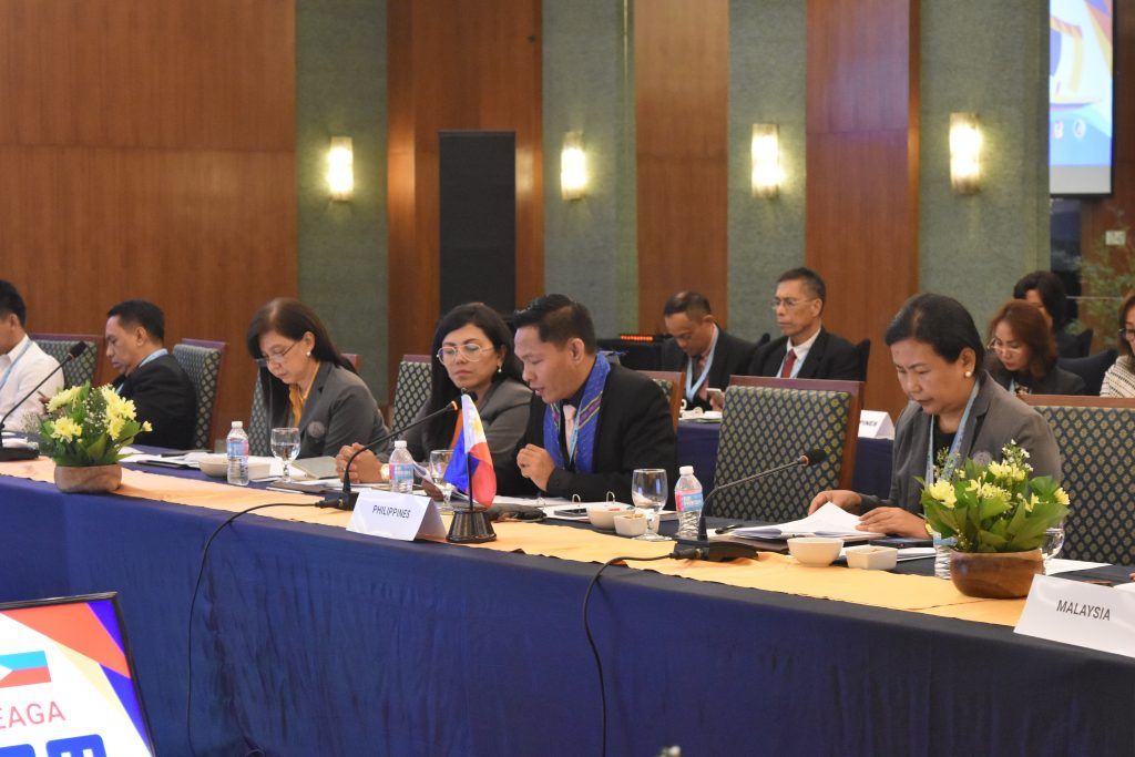Philippine Head of Delegation for BIMP-EAGA ICT Cluster, ASec Alan A. Silor presents Philippine efforts on iROP and promotion of ecommerce in the countryside
