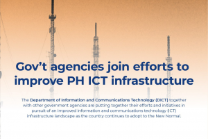 Gov't agencies join efforts to improve PH ICT infrastructure