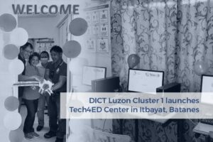 DICT Luzon Cluster 1 launches Tech4ED Center in Itbayat, Batanes