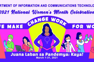 DICT promotes online discourse on gender-responsive governance for Women's Month 2021