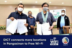 DICT connects more locations in Pangasinan to Free Wi-Fi